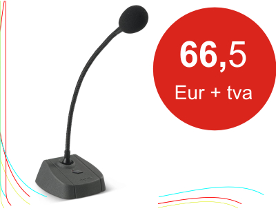 Proel bmg1 baza microfonica pt anunturi