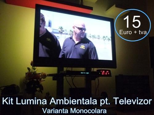 Kit lumina ambientala -televizor