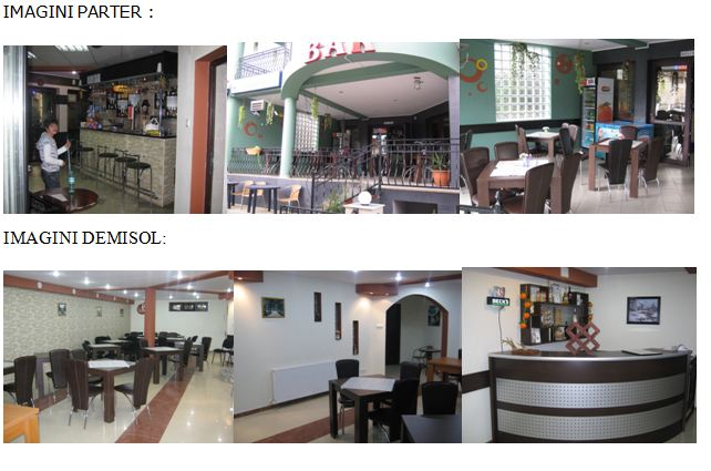 Spatiu comercial (bar) in calimanesti