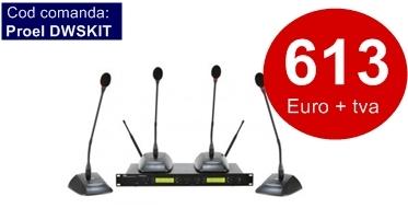 Discutii fara fir - sistem wireless pentru sedinte, dwskit
