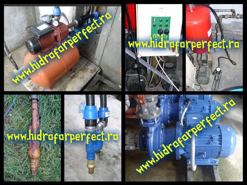 Service, montaj si reglaj hidrofor ilfov