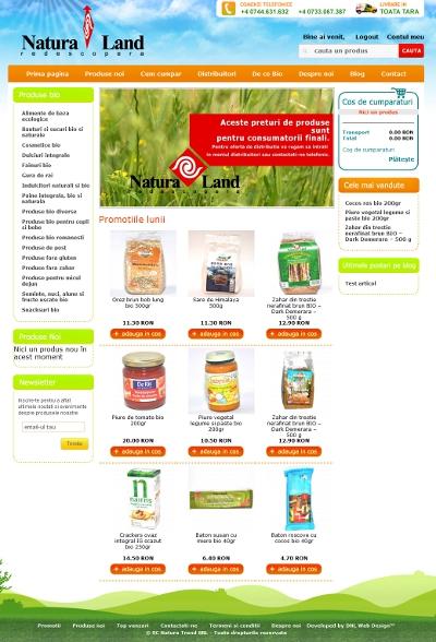 Magazin produse bio alimente ecologice