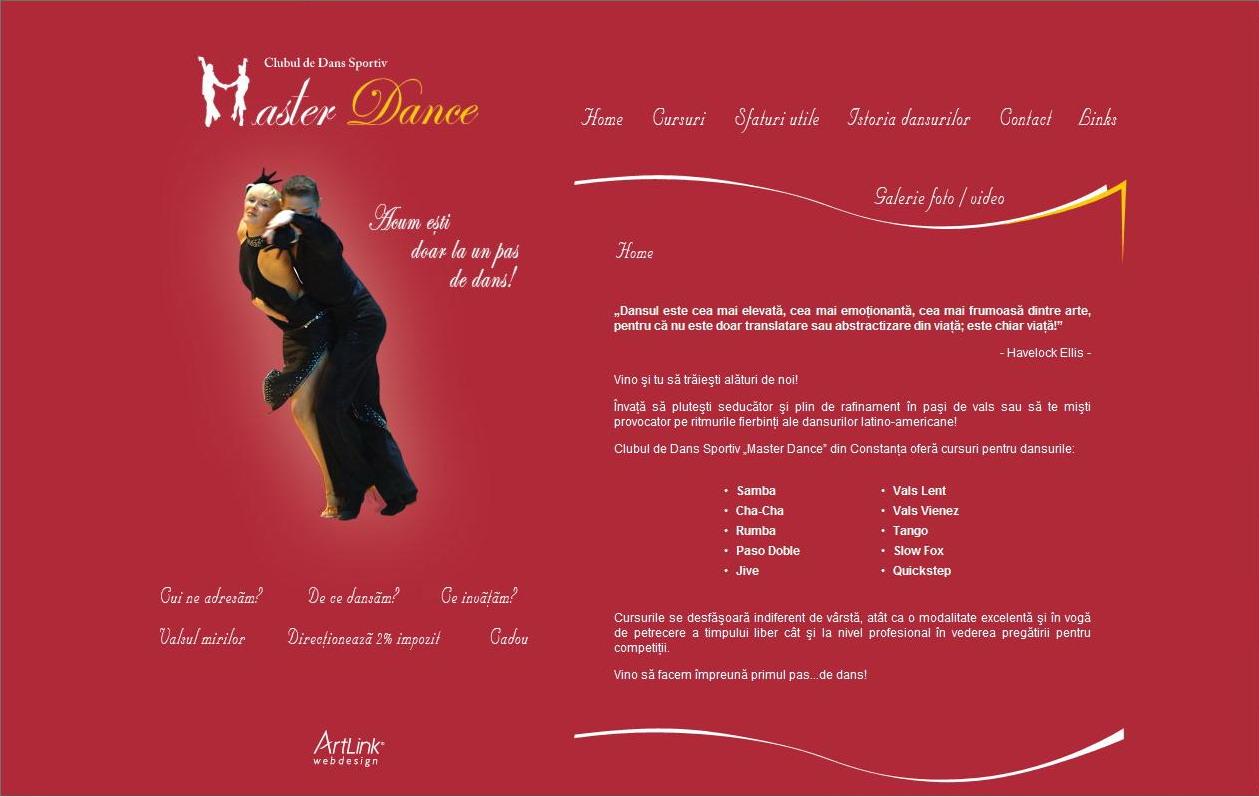 Clubul de dans sportiv Master Dance Constanta
